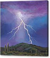Night Strike Canvas Print