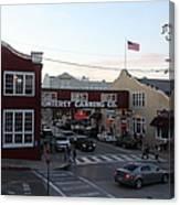 Nightfall Over Monterey Cannery Row California 5d25146 Canvas Print