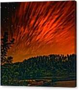 Nightfire Canvas Print