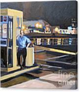Nightguard Canvas Print