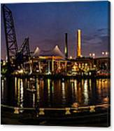 Nightlife In The Flats Canvas Print