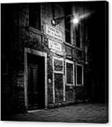 Nightroom Canvas Print
