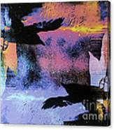 Nights Flight Towards Dawn Canvas Print