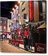 Nights In The Temple Bar Canvas Print