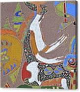 Nights Temple R  Canvas Print