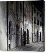 Nightscape. Iseo Canvas Print