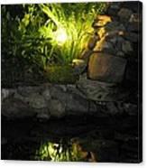 Nighttime Reflection Canvas Print