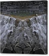 Nighttime Water Tumble Canvas Print