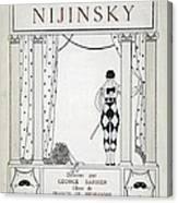 Nijinsky Title Page Canvas Print