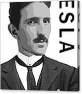Nikola Tesla 2 Canvas Print