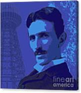 Nikola Tesla #2 Canvas Print