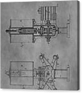 Nikola Tesla's Patent Canvas Print
