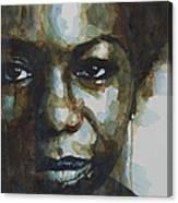 Nina Simone Ain't Got No Canvas Print