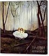 Ninas En El Bosque Canvas Print