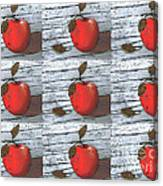 Nine Apples Canvas Print