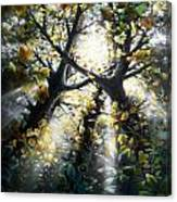 Nine Birds Canvas Print