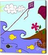 Nine Fish Canvas Print