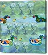Nine Of Cups Canvas Print