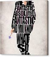 Ninth Doctor - Doctor Who Canvas Print