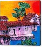 Nippon Waterway Canvas Print