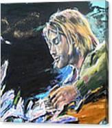 Nirvana - Kurt Cobain Canvas Print