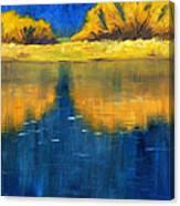 Nisqually Reflection Canvas Print