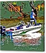Nitro Bass Boats Canvas Print