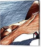 Niu Xvii.  2013  90/51 Cm.  Canvas Print
