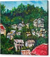 Nivel Hills Cebu Canvas Print