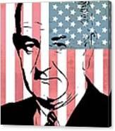 Lyndon Johnson Canvas Print