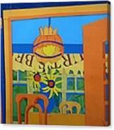 Nj Sunflowers Canvas Print