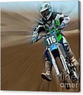 Motorcross No. 116 Canvas Print