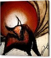 No Bullfights Canvas Print