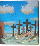 No Cross No Crown 1 Canvas Print