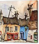 No Parking Bunratty  Clare Canvas Print