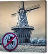 No Tilting At Windmills Canvas Print