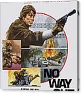 No Way Out, Aka Big Guns - Tony Canvas Print