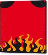 No131 My Hellboy Minimal Movie Poster Canvas Print