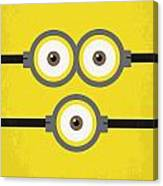 No213 My Despicable Me Minimal Movie Poster Canvas Print