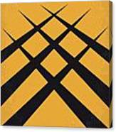 No222 My Wolverine Minimal Movie Poster Canvas Print