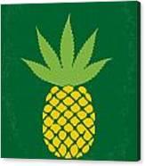 No264 My Pineapple Express Minimal Movie Poster Canvas Print
