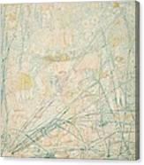 No.3713 Songe De La Fantasie, 1864 Canvas Print