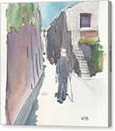 No.8 Sur La Route De Venasque Canvas Print