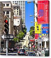 Nob Hill - San Francisco Canvas Print