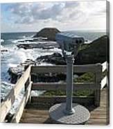 The Nobbies Outlook - Great Ocean Road, Australia Canvas Print