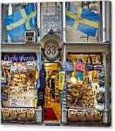 Noble Souvenirs. Stockholm 2014 Canvas Print
