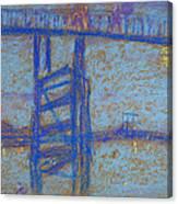 Nocturne. Battersea Bridge Canvas Print
