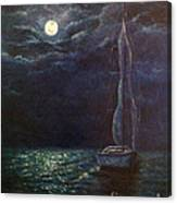 Nocturne Song Canvas Print