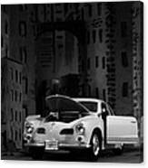 Noir City Canvas Print