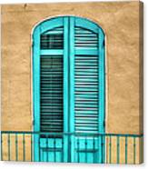 Nola Balcony Canvas Print